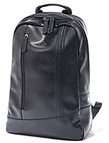 Men PU Casual Backpack All Seasons