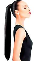 Зажим 16inch в высоком обтягивании ponytail вокруг -80gram выдвижение человеческих волос 100% реальное легкое износ