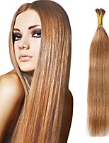 8A Real Remy Indian Virgin Hair Double Drawn Silky Straight Pre-Bonded/Keratin Stick-Tip or I-Tip Hair Extensions 0.5g/strand 100s