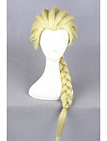 Elsa Light Yellow Synthetic 20inch Anime Cosplay Wigs CS-135A