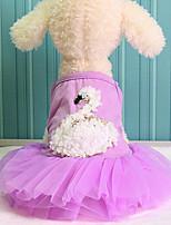 Hunde Kleider Smoking Hundekleidung Winter Sommer Frühling/Herbst PrinzessinNiedlich Sport Klassisch Hochzeit Cosplay Geburtstag Urlaub