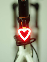 Bike Lights LED Cycling Lumens USB Charger Battery Red Cycling/Bike Outdoor