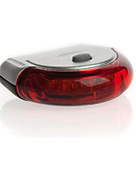 Tail Lights Safety Lights Safety Reflectors LED Cycling Warning Lumens Battery Red Cycling/Bike