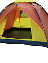 徽羚羊 3-4 personnes Tente Unique Tente automatique Une pièce Tente de camping Fibre de verre OxfordEtanche Respirabilité Résistant aux