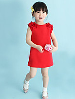 Girl's Casual/Daily Solid Dress