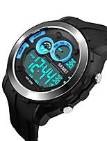 Smart Watch Etanche Longue Veille Multifonction Minuterie Chronomètre Fonction réveille Calendrier Chronographe IR Pas de slot carte SIM
