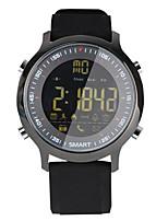 Relógio Inteligente Impermeável Suspensão Longa Calorias Queimadas Pedômetros Tora de Exercicio Esportivo Informação Controle de Câmera