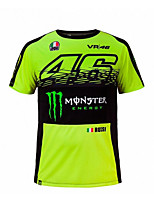 motorcycle MotoGP T-shirt riding suits motorcycle VR46 Knight Locy cotton short-sleeved racing suit T-shirt