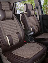 Leather Linen silkLeatherwearBusiness Car 7 Seater Van Seven Car seat Cushion Leather Four Seasons Cushion Seat Cover
