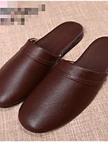 Men's Slippers & Flip-Flops Spring Comfort Light Soles Leather Casual