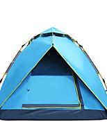 3-4 человека Световой тент Двойная Однокомнатная ПалаткаПоходы Путешествия