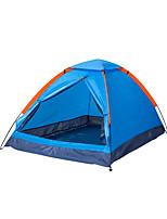 2 Pessoas Tenda Único Tenda Dobrada Um Quarto Barraca de acampamento 1500-2000 mm TafetáÁ Prova de Humidade Prova de Água Respirabilidade