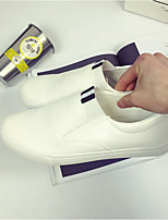 Women's Sandals Summer Comfort PU Casual Flat Heel Black White Gold