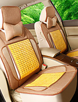 Linen Fabric Summer Cool Pad Bamboo Car Seat Cushion Seat Bamboo Cushion 5 Seats
