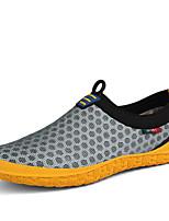 Серый Зеленый Синий-Для мужчин-Повседневный-ПолиуретанУдобная обувь-Мокасины и Свитер