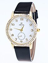 Women's Fashion Watch Wrist watch Quartz Rhinestone Alloy Band Casual