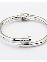 Жен. Муж. Браслет цельное кольцо Браслет разомкнутое кольцо БижутерияДружба Мода Винтаж Богемия Стиль Панк Хип-хоп Rock Сделай-сам