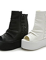 Talons féminins printemps creepers confort pu occasionnel