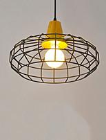 Подвесные лампы ,  Современный Электропокрытие Особенность for Светодиодная лампа Металл Гостиная Спальня Столовая Кухня Кабинет/Офис