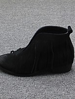 Women's Boots Spring Comfort Suede Casual