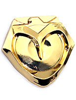 Badge Inspired by Overwatch JesseMccree Anime Cosplay Accessories Badge Black Golden Alloy