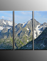 Photographic Print Landscape Modern,Three Panels Canvas Horizontal Print Wall Decor For Home Decoration