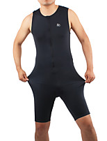 Tri Suit Men's Sleeveless Bike Triathlon/Tri Suit Breathable Comfortable Full Body Spandex Chinlon Solid Spring Summer Fall/Autumn Winter