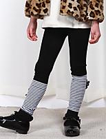 Pantalons Fille Décontracté / Quotidien Couleur Pleine Rayonne Eté Printemps
