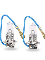 GMY® Halogen Car Automotive Fog Light H3 Clear Series 12V 100W 2pcs
