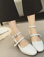 Femme-Décontracté--Gros Talon-Confort-Chaussures à Talons-Polyuréthane
