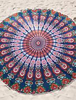 Beach Towel Reactive Print High Quality Bohemian Style 100% Chiffon Shade Towel 140*140cm