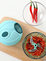 1Pcs  Multifunctional Manually Minced Meat Veggie Chopper Baby Food Supplement Machine Vegetables Fruits Chopper Kitchen Tools