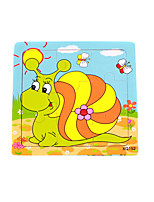 Jigsaw Puzzles Wooden Puzzles Logic & Puzzle Toys Building Blocks DIY Toys Square Wood Leisure Hobby