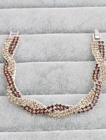 Femme Chaînes & Bracelets Mode Alliage Bijoux Pour Mariage Soirée Occasion spéciale Anniversaire Fiançailles Sports Regalos de Navidad 1pc