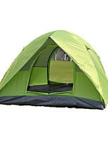 2 personnes Tente Double Tente automatique Une pièce Tente de camping 2000-3000 mm Fibre de verre OxfordRésistant à l'humidité Etanche