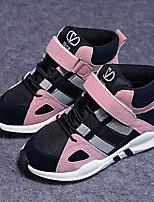 Зеленый Розовый-Мальчики-Повседневный-Полиуретан-На низком каблуке-Удобная обувь-Мокасины и Свитер