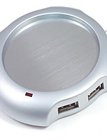 copo de vácuo almofada usb aquecedores copo de alumínio isolamento liga de disco de vácuo copo esteira