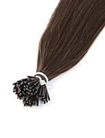 Neitsi 8a grade 28 '' 25g / lot 1g / s eu derrubo o cabelo humano remy reto das extensões 100% do cabelo 4 #