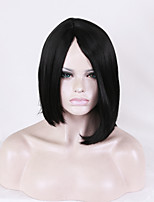 Europe and the United States Women Wig Bobo Hair 12 inch High Temperature Hair Silk Simulation