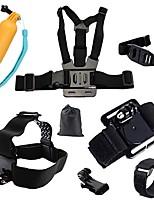 Caméra d'action / Caméra sport Harnais Poitrine / Sangle de poitrine Fixation Frontale TrépiedMultifonction Pliable Ajustable Tout en un