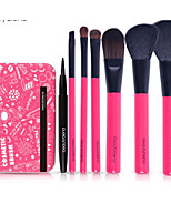 Blush Brush Eyeshadow Brush Lip Brush Brow Brush Eyeliner Brush Eyelash Comb (Flat) Concealer Brush Foundation Brush Synthetic Hair