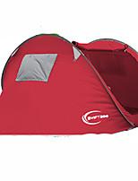 3-4 Pessoas Tenda Único Tenda Automática Um Quarto Barraca de acampamento 1500-2000 mm Fibra de Carbono OxfordÁ Prova de Humidade Prova