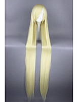 Long Chobits-Eruda Beige Straight 48inch Anime Cosplay Wigs CS-159A