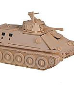 Jigsaw Puzzles 3D Puzzles Building Blocks DIY Toys Tank Wood Model & Building Toy