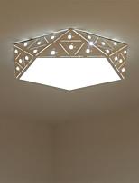 Montage de Flujo ,  Moderno / Contemporáneo Pintura Característica for LED Metal Sala de estar Dormitorio Comedor Cocina Sala de niños