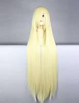 Cosplay Wigs Cosplay Cosplay Long Straight Anime Cosplay Wigs 100 CM Heat Resistant Fiber