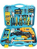 Hold® 010223 67pcs Haushalt Werkzeugsatz Reparaturwerkzeug mit Elektrobohrer