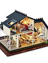 Dollhouse Model & Building Toy Square Wood