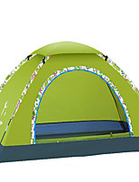 LYTOP/飞拓 3-4 personnes Tente Unique Tente pliable Une pièce Tente de camping Fibre de verre OxfordEtanche Respirabilité Résistant aux