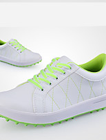 Chaussures pour tous les jours Chaussures de Golf Femme Antidérapant Anti-Shake Coussin Antiusure Etanche Extérieur Utilisation Caoutchouc